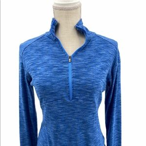 Columbia Blue Long Sleeve Pullover Size M
